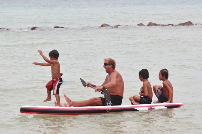 Maui Paddle Stand-Up Paddleboard On The Coast Of Kahului