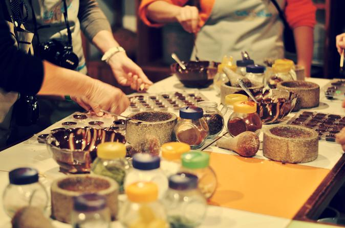 Lima Miraflores ChocoMuseo: Oficina dos grãos à barra de chocolate
