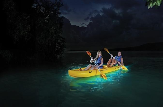 vieques bioluminescent bay night kayak tour 2017 vieques