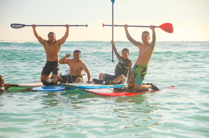 Private Stand Up Paddle Boarding Lesson On Waikiki Beach