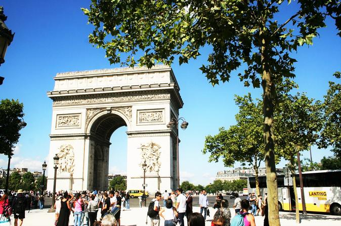 Skip the Line Arc De Triomphe Summit Access and Champs Elysees Highlights