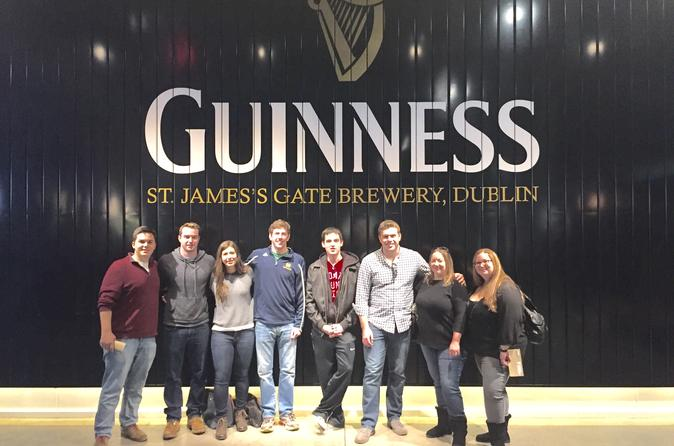 Temple Bar Highlights Tour with Guinness and Whiskey Tasting from Dublin