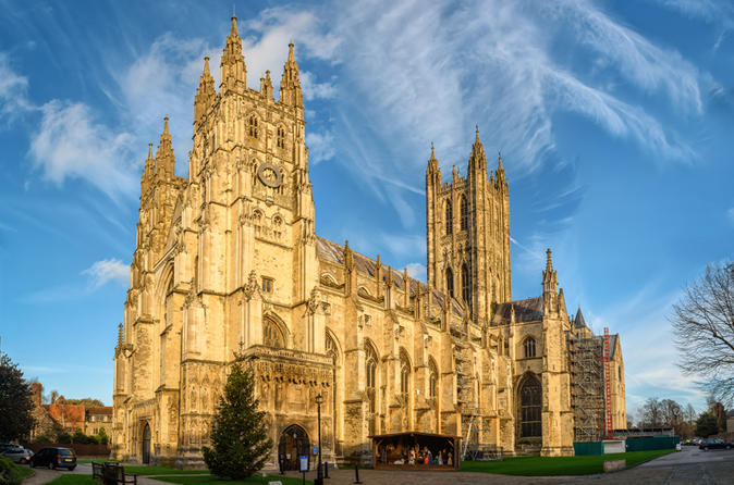 Canterbury, Dover, Rochester, Kent in One Day from London