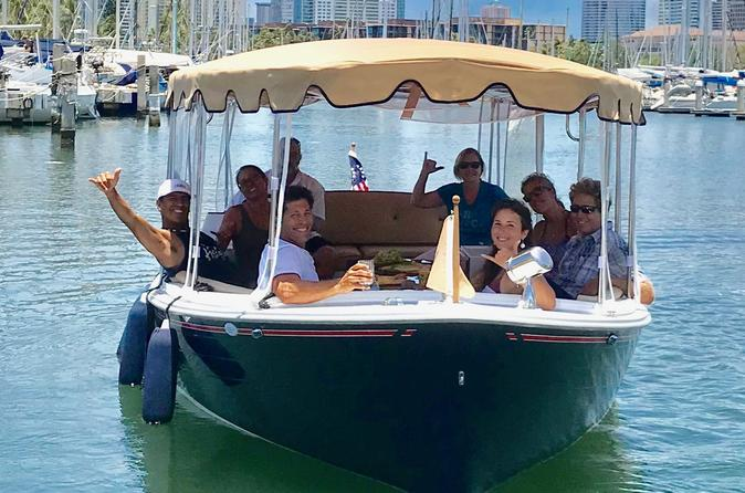 Hawaii's Private Electric Boat Tour for Up to 10 People