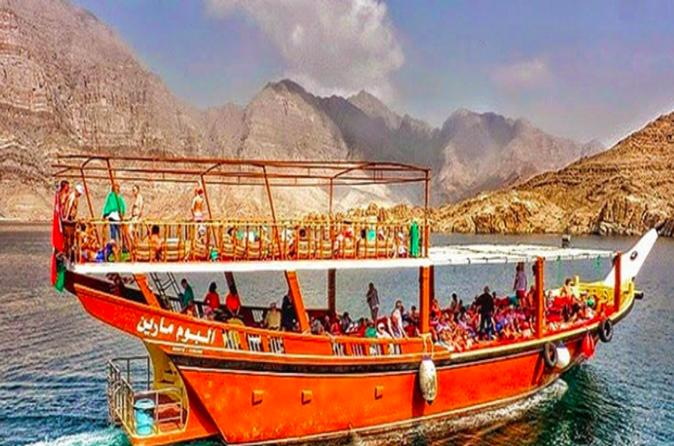 Muscat Shore Excursion: Dhow Cruise in Marina Bandar
