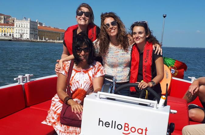 helloBoat, your new travel experience on the Tejo river in Lisbon