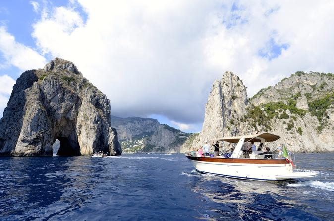 Discover Capri Island By Boat - From Rome
