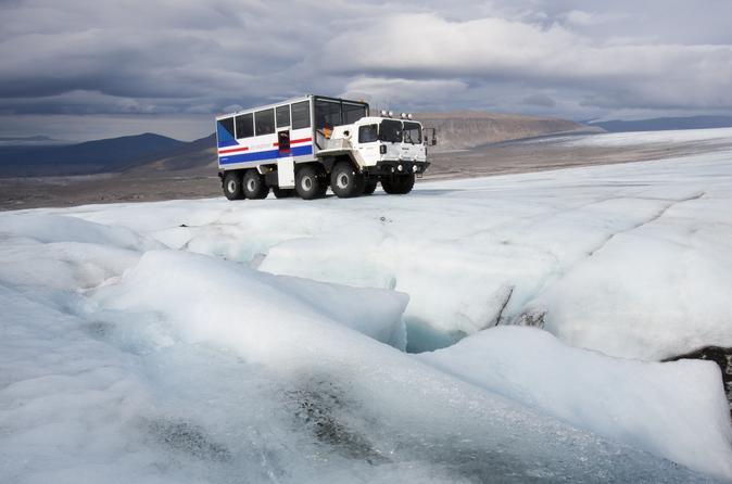 Inside Langjökull Glacier and Ice Cave Tour
