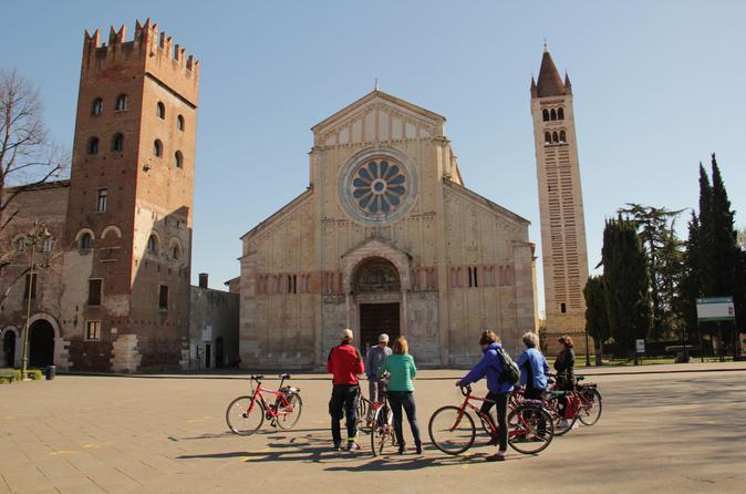 Bike Tour: 3-Hour Browsing around Verona