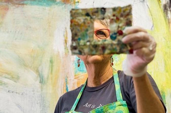 Artist at Work with Ellen Rolli, Contemporary Painter