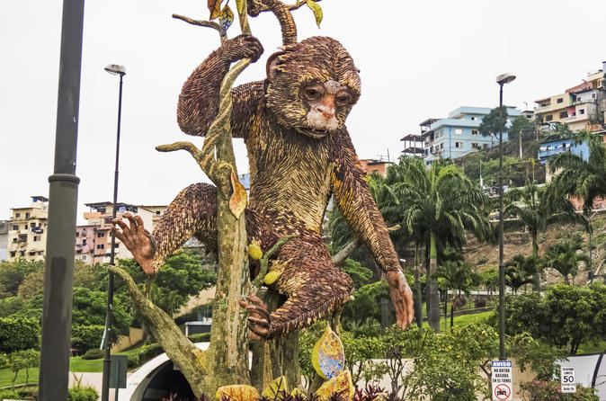 Guayaquil Layover Sightseeing Tour with Round-Trip Airport Transport Ecuador, South America