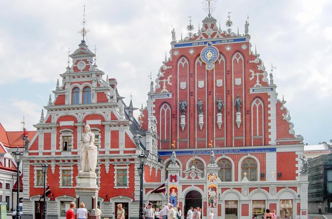 Two Capitals of Baltics Tallinn - Riga Tour