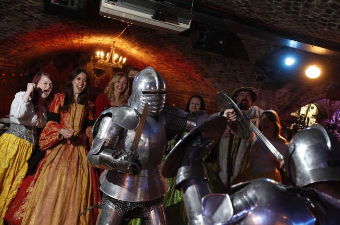 New Year's Eve-Medieval Banquet - 6 Course meal,Ale-Wine with Dinner,Show,Disco