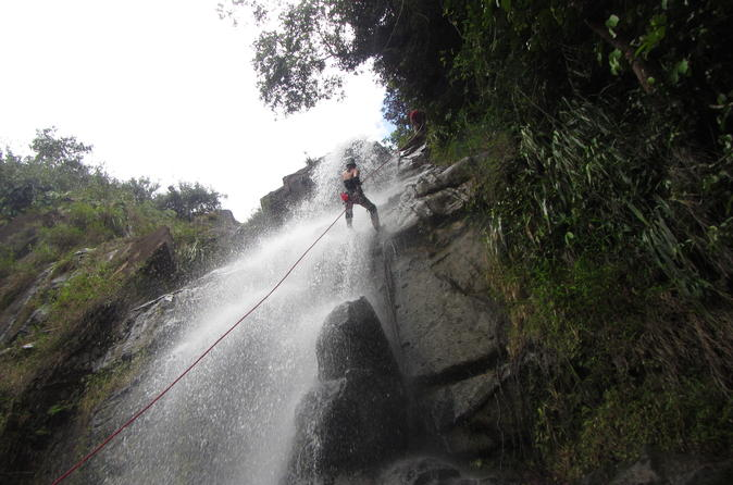 Waterfall rappelling at antelope falls in dangriga in dangriga 230848