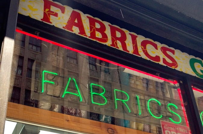 New York City Private Fabric and Trim Shopping Tour