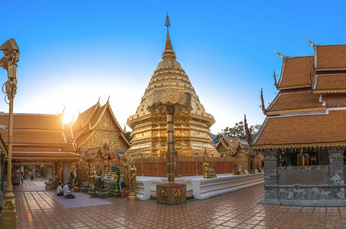 Chiang Mai City & Temples Tour