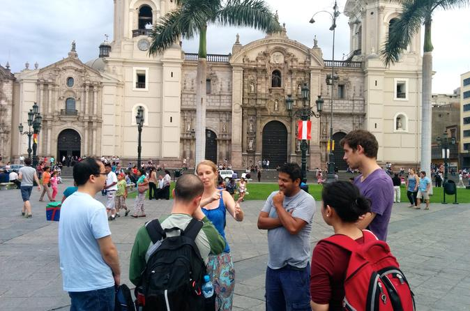 Lima Historical Center Private Tour with a Local