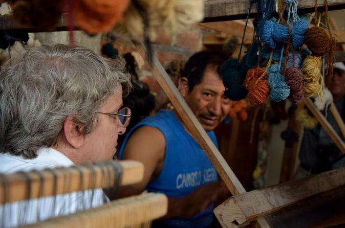 Local Artisans and Pachacamac Tour