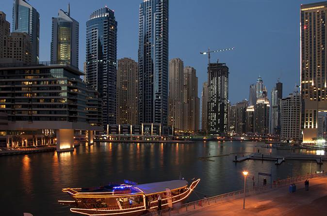 Dhow avondcruise vanuit Dubai Marina