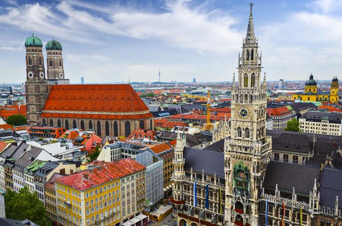Private City Sightseeing Tour in Munich for Incentive Groups up to 45 person