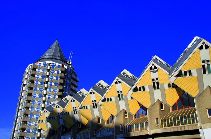 Private rotterdam walking tour including cubehouse entrance in rotterdam 267477