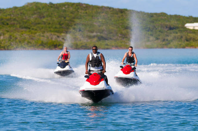 San Salvador Island Jet Ski Excursion