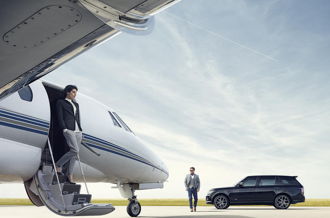Luxury Range Rover Arrival Transfer: Heathrow Airport to Central London