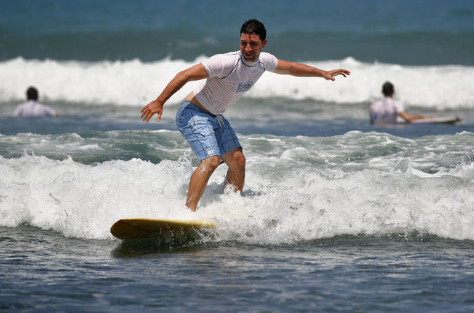 Surfing lessons in jaco beach in jaco 204202