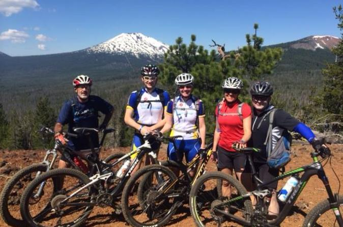Bend half day mountain bike tour in portland 218388
