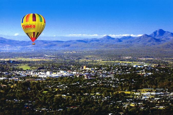 Brisbane or ipswich hot air balloon flight from ipswich in brisbane 197258