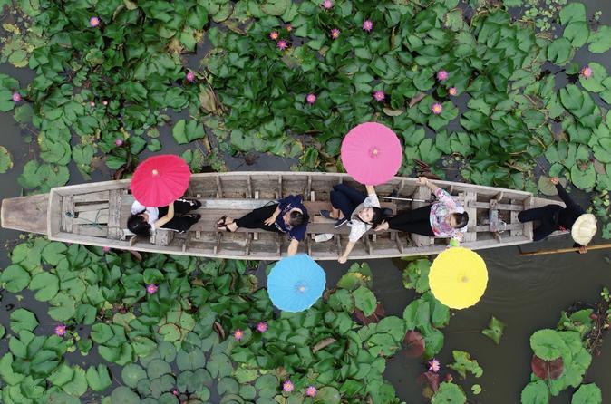 Lotus garden market with Thai culture halfday tour