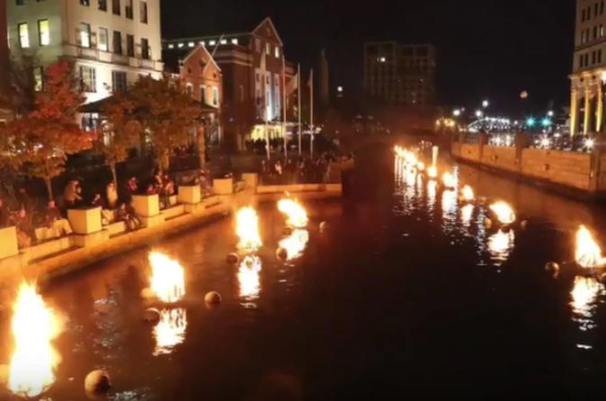 Newport & Providence Waterfire