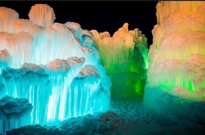 Snow Tubing, Showshoeing and Ice Castles