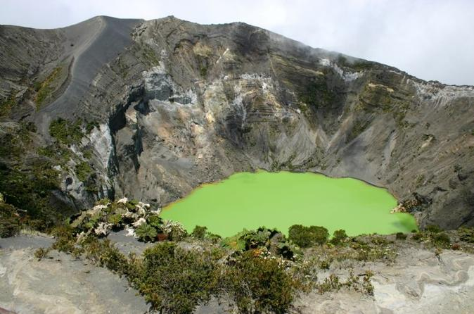 Irazu Volcano Orosi Valley and Cartago