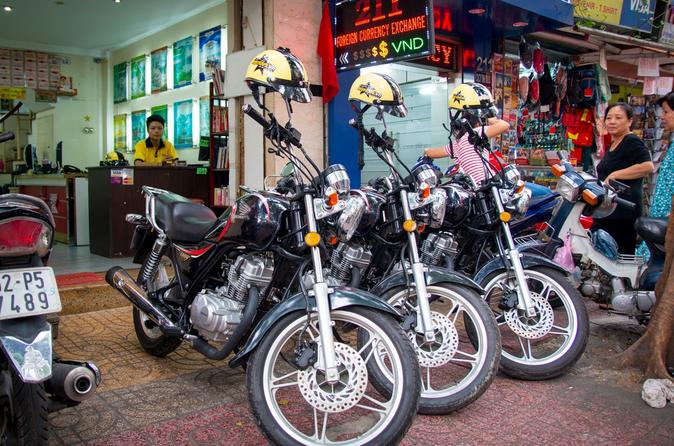 Morning Motorbike Tour to Cu Chi Tunnels from Ho Chi Minh City in Vietnam Asia