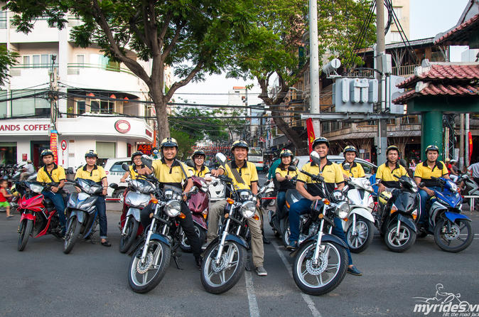 Ho Chi Minh City Saigon by Night Food Tour by Motorbike in Vietnam Asia