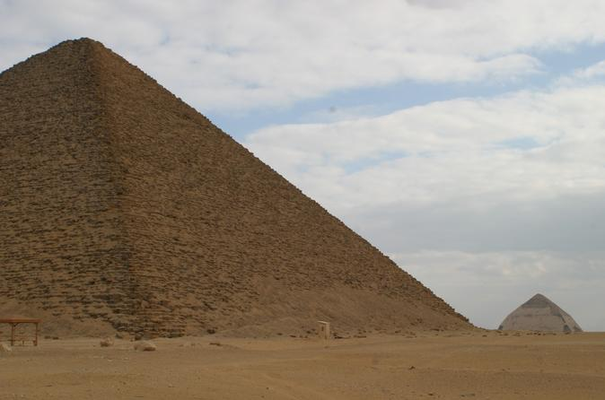 Full Day Tour To Sakkara, Dahshur and Giza pyramids Including Lunch