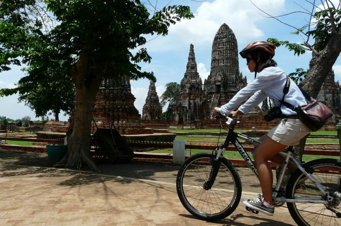 Bangkok to Ayutthaya by Road Bicycle