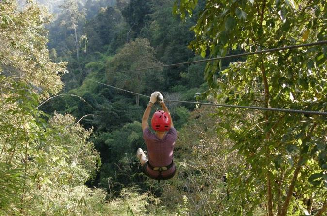 Cycling and Zipline Adventure in Chiang Mai