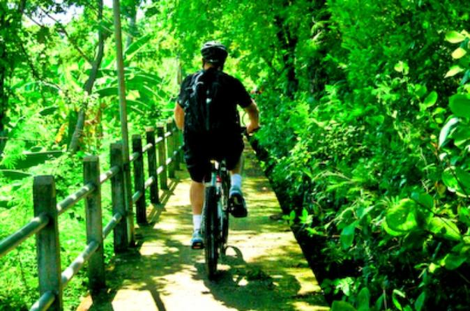 Jungle Cycling Tour from Bangkok