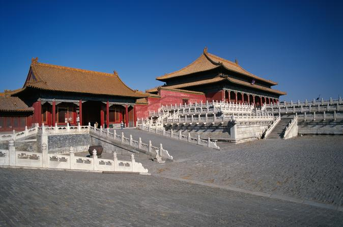Tiananmen, Forbidden City, Temple of Heaven, Summer Palace Group Bus Tour