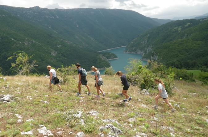 3 night active break in montenegro including 2 hikes tara river in kotor 195685