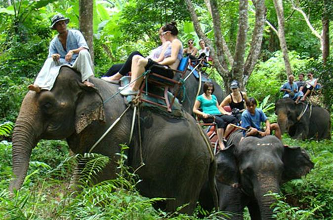 Phuket Safari und Öko-Tourismus Tour ab Phuket