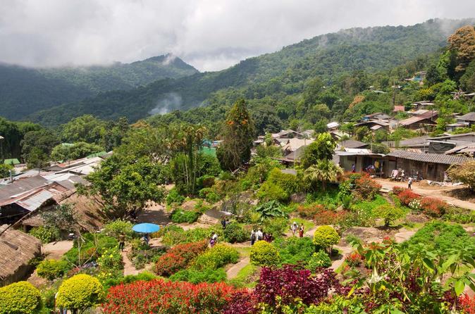 Wat Doi Suthep & Hmong Hill Tribe Village from Chiang Mai