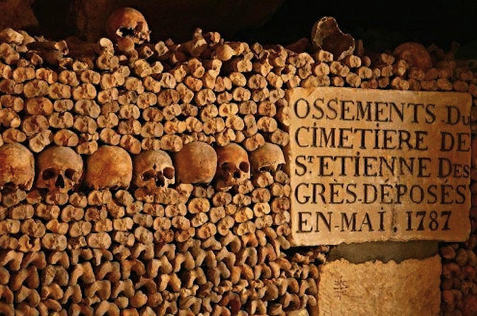 Small-Group Guided Tour of Catacombs in Paris
