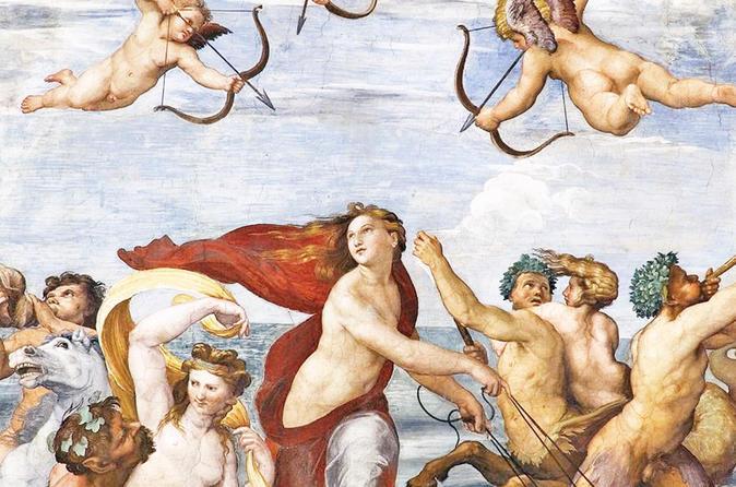 Skip-the-line Villa Farnesina Raphael Paintings & Trastevere Guided Tour in Rome