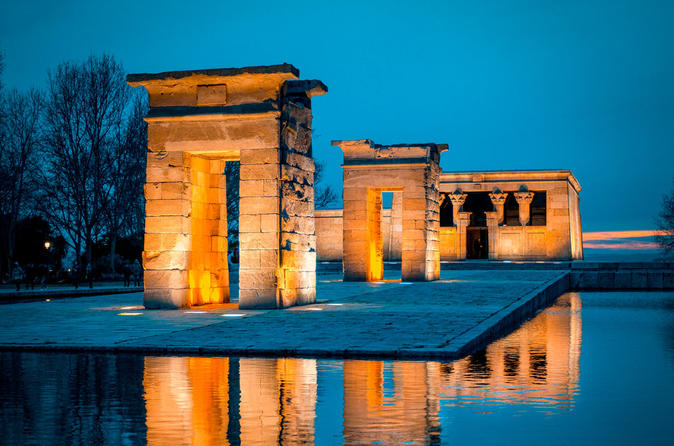 Egyptian Debod Temple Ninebot-Segway 1H Tour