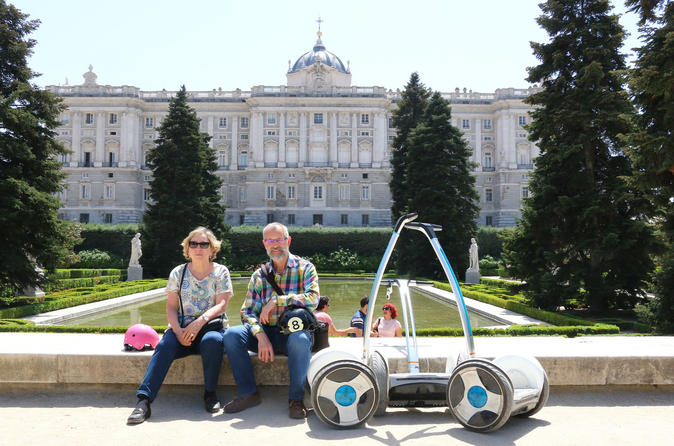 Essential Madrid Ninebot-Segway 1 hour Tour