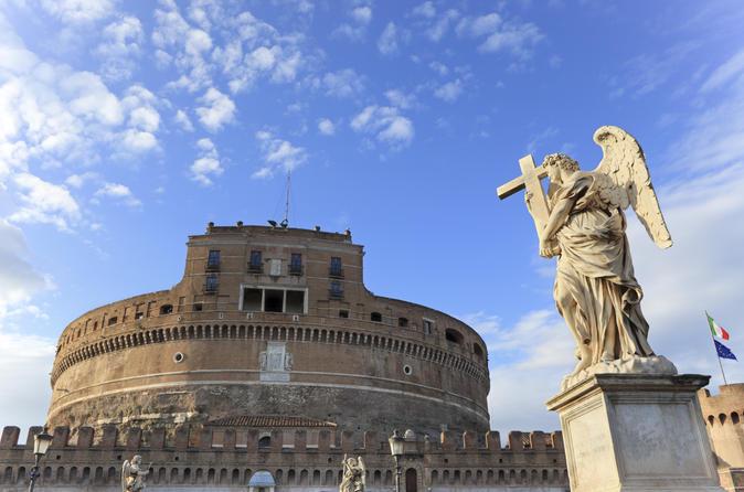 Italien fahrradtour durch rom