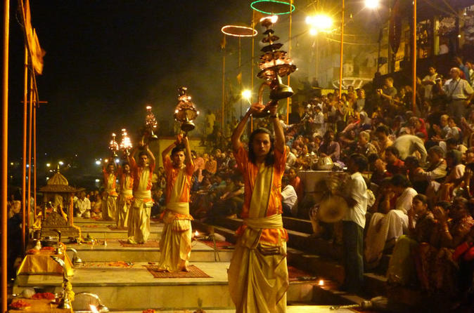 Sacred Varanasi and Ganges River Ceremony Tour